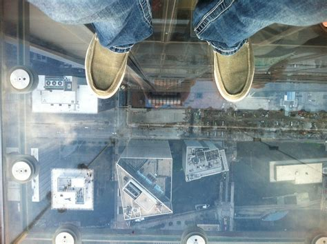 waffle house 103rd first time to chicago standing on glass at 103rd floor of sears tower pics