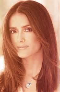 Salma hayek hairstyles stylish center parted haircut pretty designs