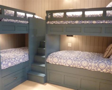 4 Bed Bunk Beds Corner Bunk Beds Houzz