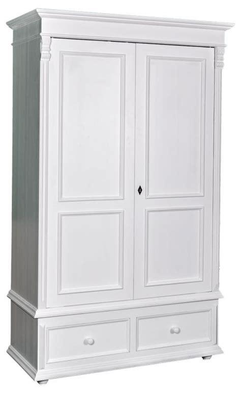 armoire chene massif 2 portes armoire 2 portes 2 tiroirs en ch 234 ne massif ou en pin
