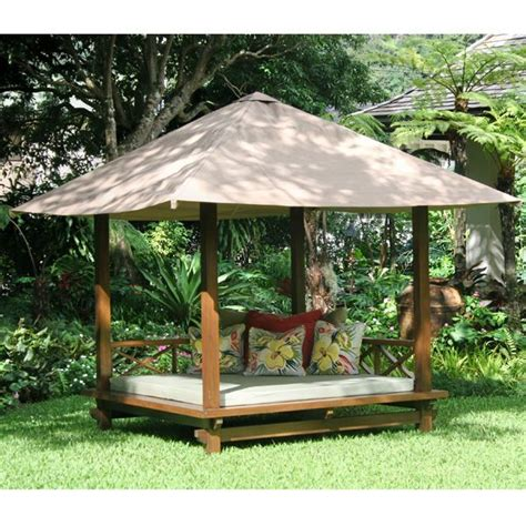 cabana for backyard outdoor cabana outdoor cabana daybed from www