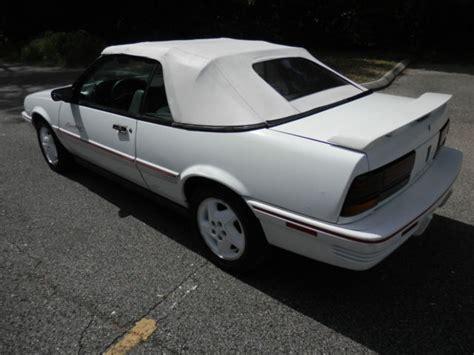 auto air conditioning repair 1994 pontiac sunbird security system 1994 pontiac sunbird le convertible 2 door 3 1l rare triple white and rust free for sale in
