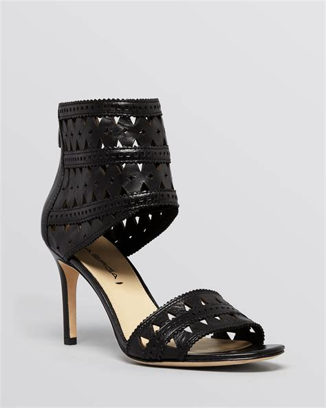 black platform sandals with ankle via spiga open toe ankle platform sandals vanka