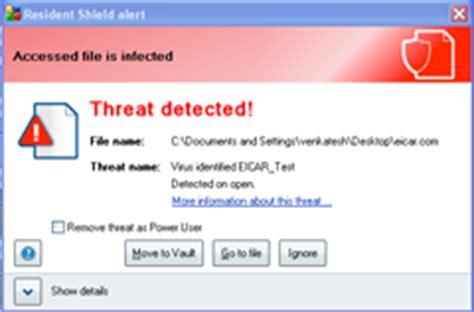 eicar test eicar test check your anti virus working or not