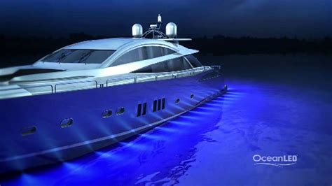 yacht underwater lights oceanled tv how to light a motor yacht worlds best