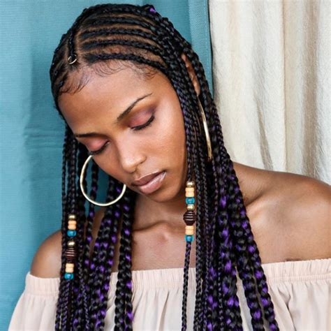 cool pics of afro up dos in cornrow with french roll just so we re clear these are fulani braids and bo derek