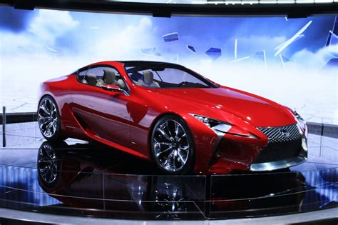 lexus concept lf lc lexus lf lc concept is this the future of hybrid sports cars
