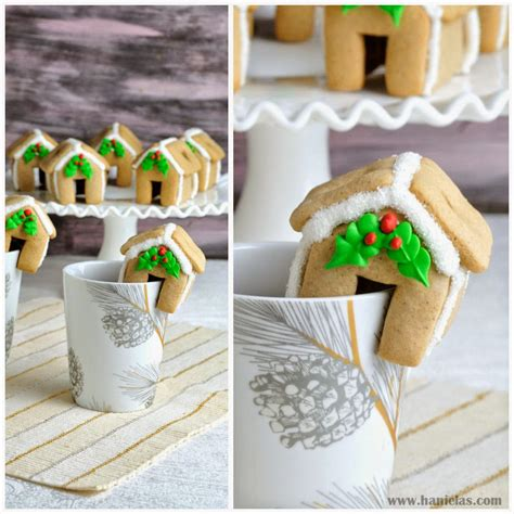 Mini Gingerbread House by Haniela S Mini Gingerbread House Collaboration With