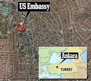 us embassy bombing in ankara at least 2 dead and several