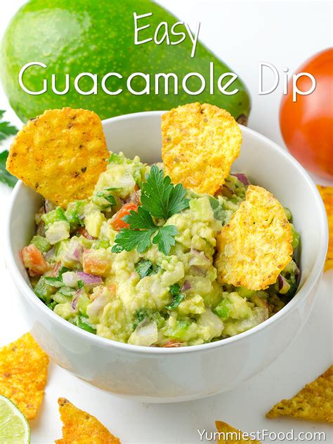 Lifestylefood A Delicous Guacamole Recipe by Easy Guacamole Dip Recipe From Yummiest Food Cookbook