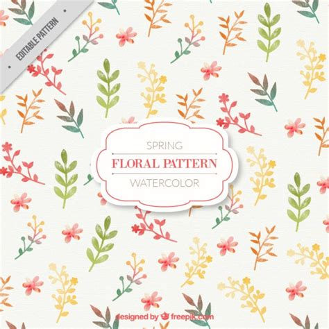 watercolor floral pattern vector free download watercolor floral pattern vector premium download