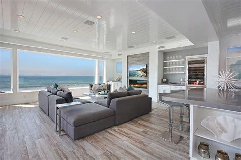 Distressed Gray Hardwood Floors - distressed hardwood flooring living room with