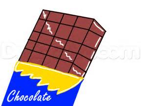 How To Draw Bar How To Draw A Bar Of Chocolate Step By Step