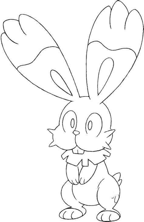 pokemon coloring pages bunnelby coloring pages pokemon bunnelby drawings pokemon