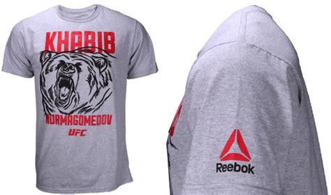 tshirt kaos khabib khabib nurmagomedov ufc reebok shirt