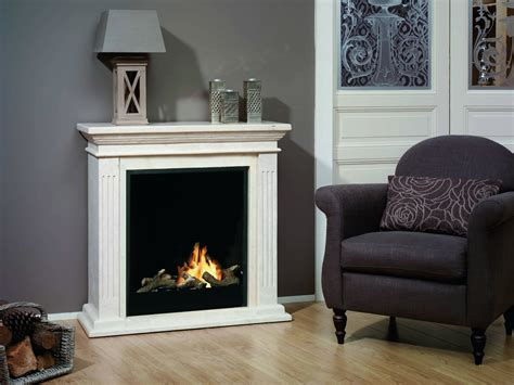 Fireplace Biofuel by Vigo Traditional Freestanding Bioethanol Firpelace Surround