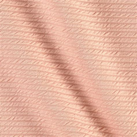 Ottoman Knit Fabric Ottoman Knit Solid Blush Discount Designer Fabric Fabric