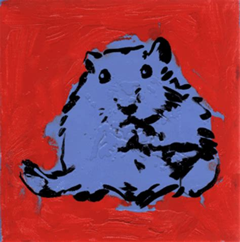 pop expressionism hamster pop painting by erica
