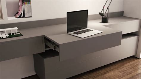 desk with pull out work surface home design interior