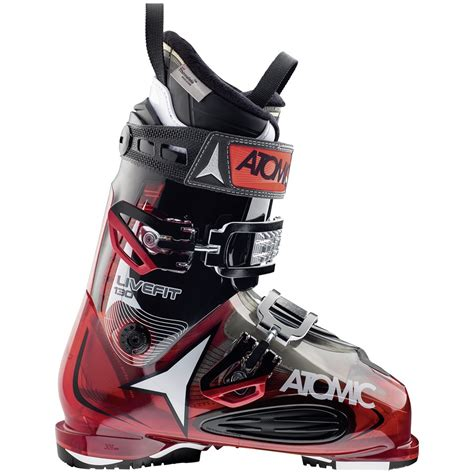 atomic ski boots atomic live fit 130 ski boots 2016 evo outlet