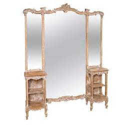 Dressing Vanities With Mirrors French Three Panel Dressing Mirror Vanity At 1stdibs