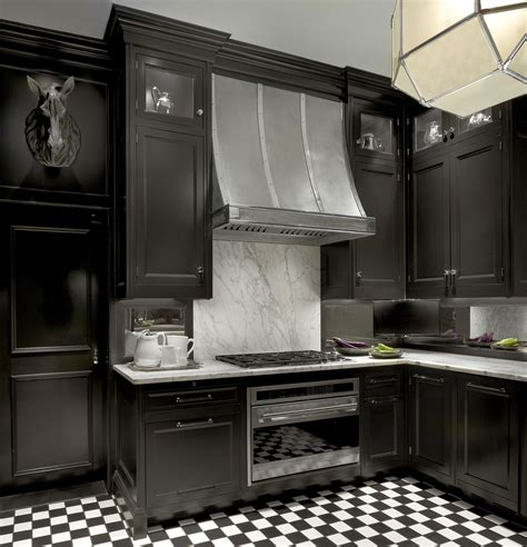 of black kitchen cabinets the decoras jchansdesigns