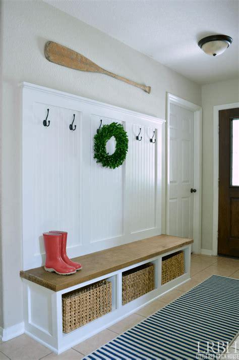diy entryway bench projects ideas  designs