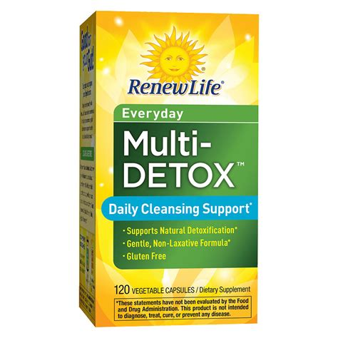 7 Day Detox At Walgreens by Renew Daily Multi Detox Vegetable Capsules Walgreens