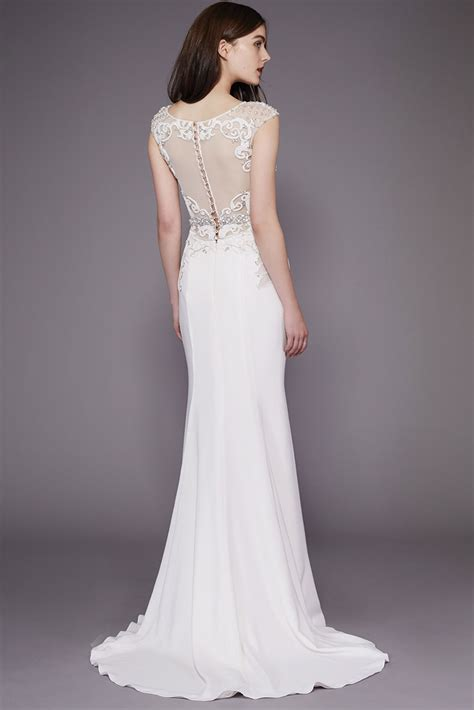 wedding dress colleen by badgley mischka wedding dresses