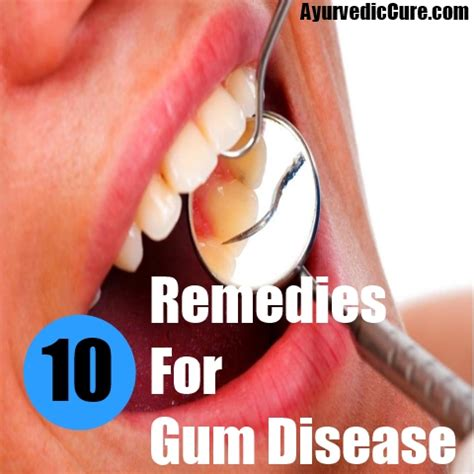 effective home remedies for gum disease