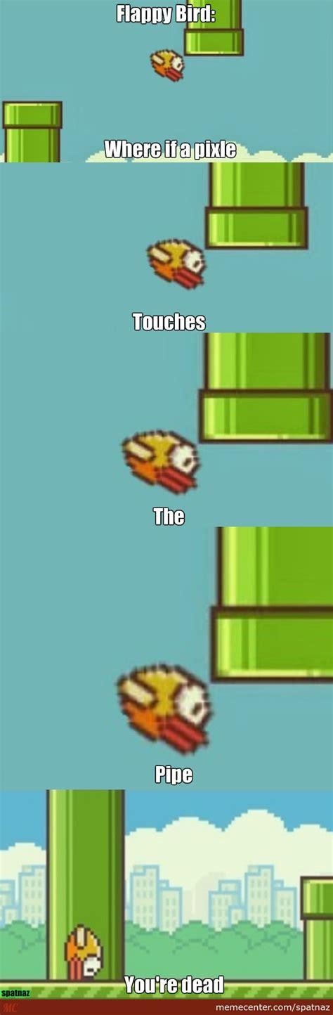 Flappy Bird Meme - flappy bird by spatnaz meme center