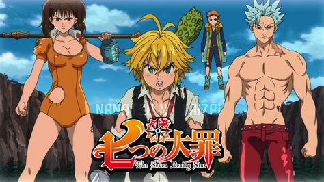 wallpaper illustration anime cartoon comics nanatsu