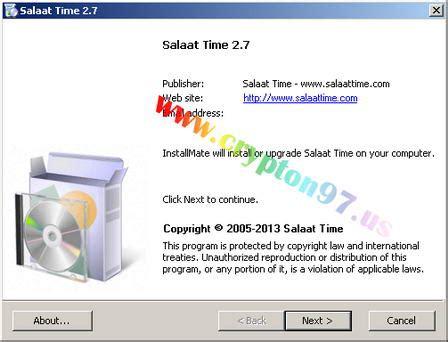 tutorial sholat isya salaat time aplikasi multifungsi pengingat waktu sholat