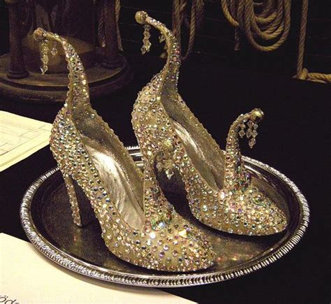 glass slipper gold sandal gold encrusted glass slippers all things cinderella