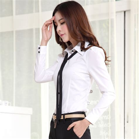 Js05 Tops Shirt Kemeja Wanita cheap work blouses uk smart casual blouse