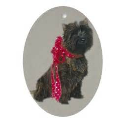 cairn terrier christmas ornament by kraftypets