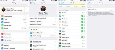 iphone icloud backup how to back up an iphone or save photos messages more macworld uk