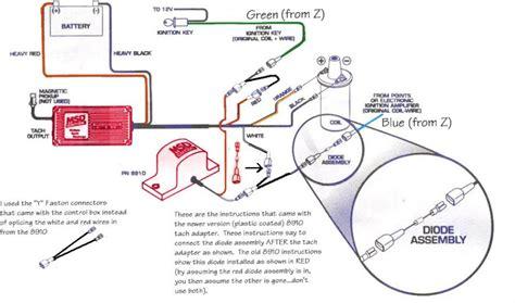 msd blaster ss wiring diagram electronics wiring