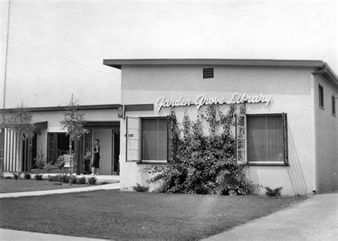 Garden Grove Regional Library Garden Grove Branch Library 1956 Flickr Photo