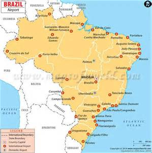 map of airports in airports in brazil maps