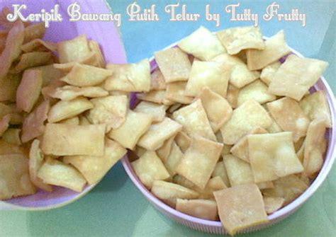 Keripik Telur Bawang resep keripik bawang putih telur oleh tutty frutty cookpad