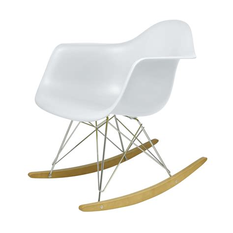 eames chair kinder eames chair schaukelstuhl buy eames style white rocker