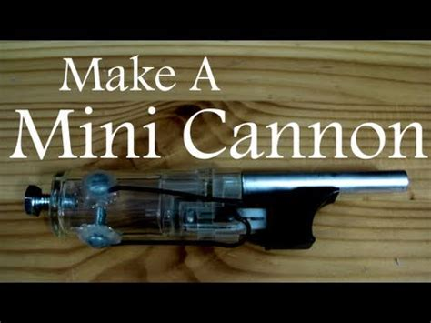 How To Make A Mini Cannon Out Of Paper - how to make a mini cannon out of paper make a mini