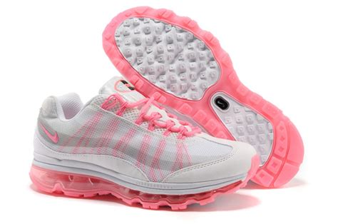 cheap nike air max 95 09 womens shoes in pink white for sale