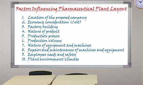 pharmaceutical plant layout design ppt factors influencing pharmaceutical plant layout