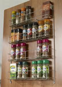 charming Luxury Kitchen Accessories #1: Door_Mounted_Spice_Rack_WWSR.jpg