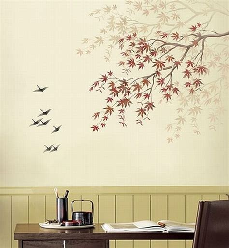wall painting templates refresh your walls with diy stencil