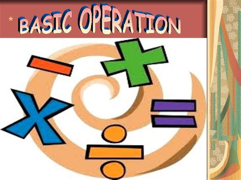 In Mat H basic operations in mathematics