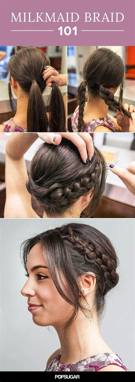 hairstyles for a casual day best 25 casual braided hairstyles ideas on pinterest