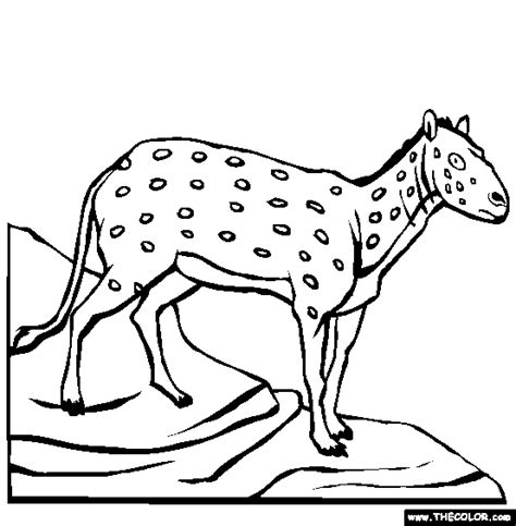 coloring pages of prehistoric animals prehistoric mammals online coloring pages page 1